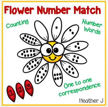 Flower Number Match