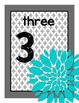 Flower Number Posters #1-20