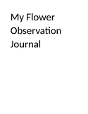 Flower Observation Journal