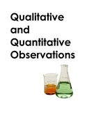 Qualitative and Quantitative Observation Practice