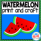 Watermelon Craft Activity and Creative Writing