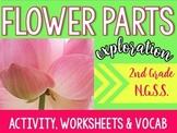 Flower Parts Exploration 2nd Grade N.G.S.S. Aligned