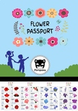 Flower Passport Activity - Size A4 and Letter