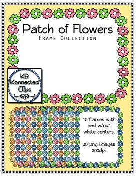 Flower Patch Frame Collection