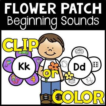 Flower Patch Match Beginning Sounds
