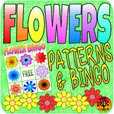Flower Centers Spring Activities Bingo and Patterns Garden Centers