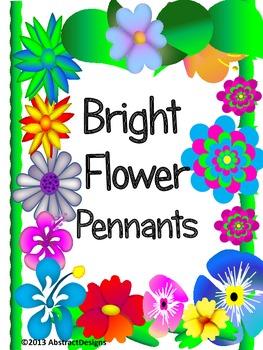 Flower Pennants