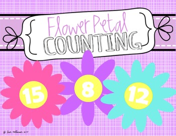 Spring Counting Practice 1-20 - Flower Petals