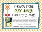 Flower Play Dough Math Activity for Pre-k and Kindergarten