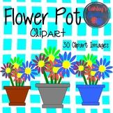 Flower Pot Clipart (PLUS make your own!
