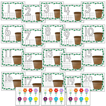 Flower Pot Counting Mats