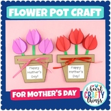 Flower Pot Mother's Day Craft