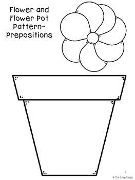 Flower Pot Prepositions