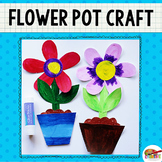 Flower Pot Printable Craft Template