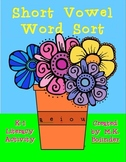 Flower Pot Short Vowel Word Sort