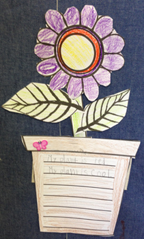 Flower Pot Writing Craftivity