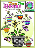 Flower Pots & Blooms (6 FREE Elements Included) Embellish Yourself Artworks