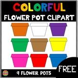 Flower Pots Clipart