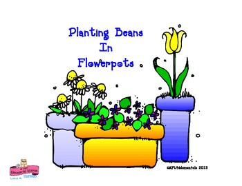 Jack & the Beanstalk Flower Pots :  Plants TK , K, 1st, or special ed