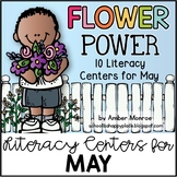 Flower Power {10 Literacy Centers for May}