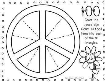 Flower Power 100th Day Activity Fun