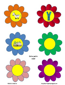 Flower Power~ A beginning sound packet