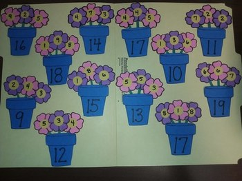 Flower Power Addition-Adding 3 Numbers