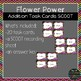 Flower Power Addition Task Cards SCOOT