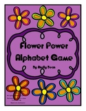 Flower Power Alphabet Game (letter or sound recognition)