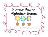 Flower Power Alphabet Game