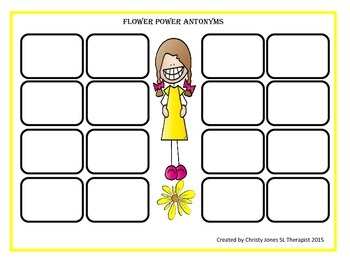 ANTONYMS-  Grade 3 to 5