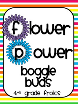 Flower Power Boggle Buds