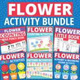 Flower Activities Bundle for Preschool and Kindergarten