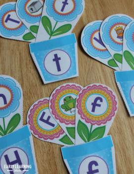 Flower Activities Bundle | Flowers Math & Literacy Activities