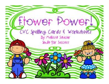 Short Vowel Spelling with Flower Power!