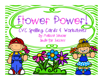 Short Vowel Spelling with Flower Power!