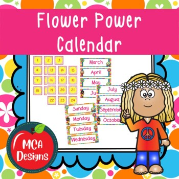 Flower Power - Calendar