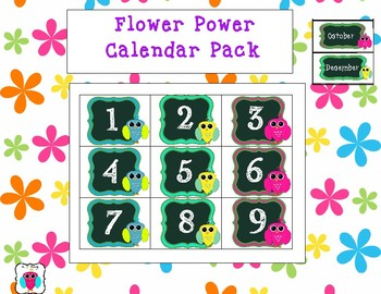 Flower Power Calendar Pack