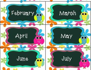 Flower Power Calendar Pack