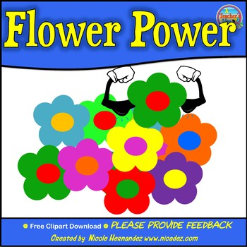 Flower Clip Art for Teachers