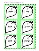 Color Words File Folder Games Flower Spring/Summer Special Education Autism