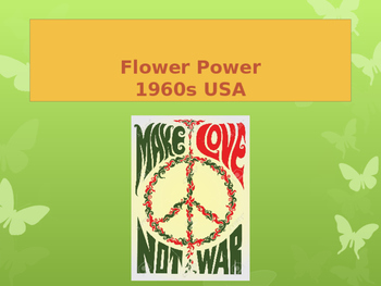 Flower Power Counterculture USA 1960s
