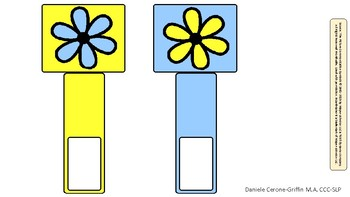 Flower Power FREE Make Your Own Match Game