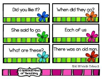 Flower Power Fluency Phrases {Reading Fluency Practice with Fry's Phrases}