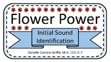 Flower Power Initial Sound Identification and Matching Game