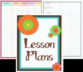 Flower Power Lesson Plan and Grade Book