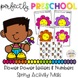 Flower Power Letters and Numbers Spring Activity Mats