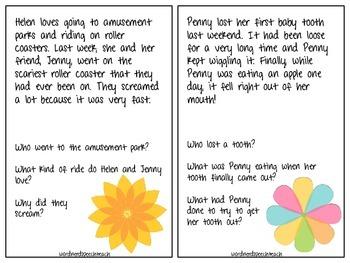 Flower Power Listening Comprehension