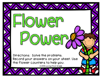 Flower Power Math Center
