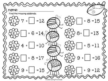 Flower Power Math Center